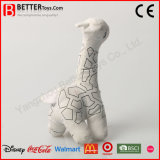 China vulde Stuk speelgoed van de Giraf van Dieren het Zachte voor het Trekken van de Jonge geitjes van de Baby