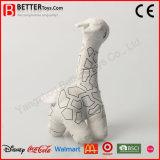Fait dans la giraffe de jouet de peluches de la Chine pour le dessin de gosses