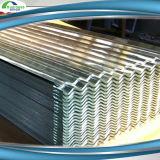Strato d'acciaio del tetto del metallo ondulato rivestito del tetto di colore dello zinco di PPGI