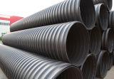 Tubo corrugado en espiral HDPE de acero de la banda de acero