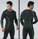 New Style Men Compression Shirt Sports Fitness Athletic Long Sleeve Gym Wear