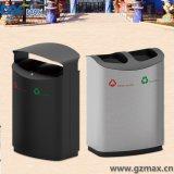ステンレス鋼の気密のゴミ箱、分類されたゴミ箱