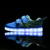 2017 sapatas adultas luminosas novas do diodo emissor de luz, sapatas baratas do diodo emissor de luz da sapatilha da alta qualidade, sapatas ocasionais do diodo emissor de luz
