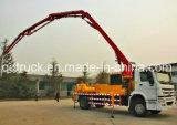 29M 트럭에 의하여 거치되는 구체적인 붐 펌프