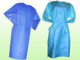 Wegwerfchirurgisches Kleid des krankenhaus-Lokalisierungs-Kleid-PP/CPE/SMS