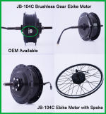 Alta torque de Jb-104c 500 vatios motor eléctrico engranado 36 voltios de la bici