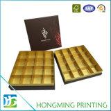 オフセット印刷のボール紙空チョコレートギフト用の箱