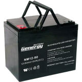 batterie rechargeable de gel de 12V 100ah