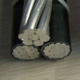 Tipo da baixa tensão e cabo aéreo material do condutor do cobre