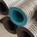 Soem-Wärme-thermische Schaumgummi-Isolierungs-Gummigefäß für Klimaanlagen-Leitung