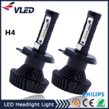 Peças de carro 80W 9000lm Philips LED Auto Headlight H4