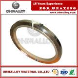 Lega temprata Ni60cr15 standard della striscia Nicr60/15 di GB per la stufa industriale
