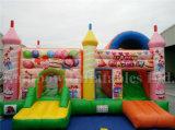 SpitzenSlae aufblasbares glückliches Partei-Schloss, aufblasbares Funcity für Verkauf