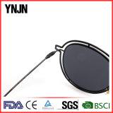 Солнечные очки высокого качества Ynjn Unisex тонкие тонкие отражательные