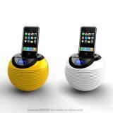 LCD 자명종 도킹 스테이션 iPhone4와 Andriod 자동차를 위한 Mic 지원 FM 라디오를 가진 무선 Bluetooth 오디오 스피커