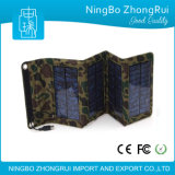 Крен солнечной силы с заряжателем сотового телефона батареи складных панелей солнечных батарей резервным для телефонов/камеры
