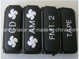 caricatore nero di alluminio del telefono della macchina del Engraver della marcatura del laser della fibra di 20W 3D