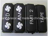 20W 3D Faser-Laser-Markierungengraver-Maschinen-schwarze Telefon-Aluminiumaufladeeinheit