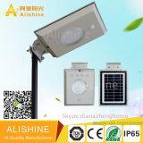 prix solaire complet économiseur d'énergie Integrated de lumière de jardin de rue de 5W DEL