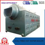 De compacte Boiler van het Hete Water van de Structuur Met kolen gestookte voor Industrie van het Voedsel