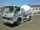 FAW 3-16 cúbico Camión mezclador de concreto