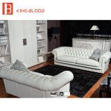 Sofá clásico del sofá de Seater del lujo 3 fijado para el país europeo