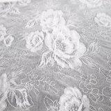 Tissu en nylon en gros de lacet de textile de réseau de mélange de Spandex de polyester