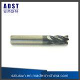 торцевая фреза носа стального шарика вольфрама 4flute для машины CNC