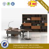 Mobília de escritório L da forma mesa do diretor escritório dos pés do metal da forma (NS-ND013)