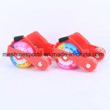 Neue Ankunfts-justierbare Blinkenrollen-Ferse-Rochen mit farbigen PU-Rädern