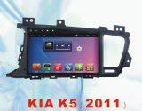 Navigation neuve de véhicule d'Ui pour KIA K5 2011 avec le joueur du véhicule GPS