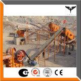 Planta machacante mineral eficaz de la estación total
