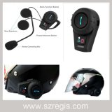 Intercom impermeable sin hilos de Bluetooth del casco del auricular
