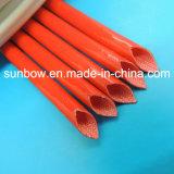 Fibre de verre approuvée des silicones 4kv d'UL gainant pour le harnais de fil