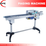 Máquina de paginación automática para bolsas de PE, caja de papel, cinta de papel, etiquetas, tarjetas de CI, tarjetas de IP de China