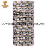 Bandana tubulaire de logo fait sur commande en gros promotionnel d'OEM