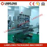 Tipo lineare in bottiglia animale domestico macchina di Labelong di rifornimento dell'olio da tavola