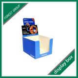 プリントペーパーディスプレイ・ケースのカートンのボックスによって波形を付けられるボックスをカスタム設計しなさい