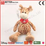Brinquedo macio do Giraffe dos animais enchidos da promoção para miúdos das crianças