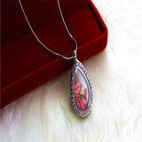長い鎖の女性の方法ネックレスの水晶ラインストーンのペンダントの宝石類