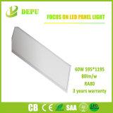 Luz del panel de 595*1195 LED 60W 80lm/W con TUV, Ce