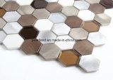 De Tegels Acshnb4001 van de Muur van het Mozaïek van de Badkamers van Backsplash van de Keuken van de Decoratie van de Tegels van het Glas van Matel van de Tegel van de Steen van de Tegels van het Mozaïek van het aluminium