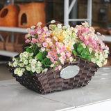 (BC-WF1033)環境に優しいハンドメイドの自然なヤナギの花のバスケット