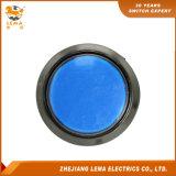 IP40 보호 수준 파란 LED 누름단추식 전쟁 스위치 Pbs-004