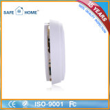 9V batería recargable fotoeléctrico GSM detector de humo