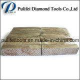 Segment concret de découpage de marbre de coupeur pour les machines-outils en pierre