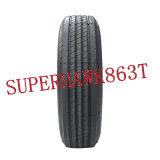 El neumático de la marca de fábrica de China, de pocas calorías Construye-Uptbr el neumático (255/70r22.5)
