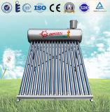 Chauffage solaire de tube électronique de Nonpressure avec l'acier inoxydable