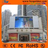 Im Freien hohe Helligkeit RGB P10 imprägniern das Bekanntmachen der LED-Bildschirmanzeige