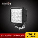"""4 """" 27W CREE mit hohem Ausschuss IP68 quadratisches LED Arbeits-Licht"""